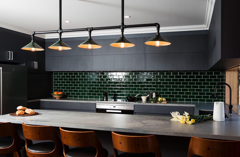Kitchen Bench Overhead Decorative Task Lighting Edison