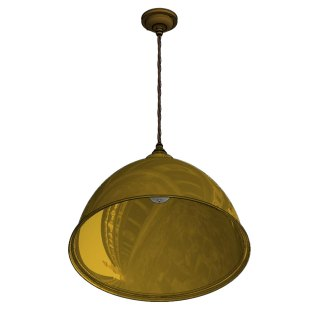 460mm Brass Dome Light Shade Pendant