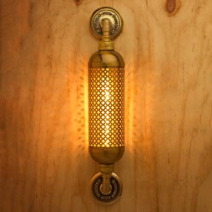 Brass Industrial Club&round wall guard tube light