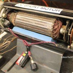 Universal Motor Wiring Diagram Obd0 To Obd2 Alternator The Electric Edison Tech Center 4 B 1 Dc Shunt Wound