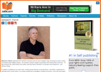 Sample AALBC.com Author Profile