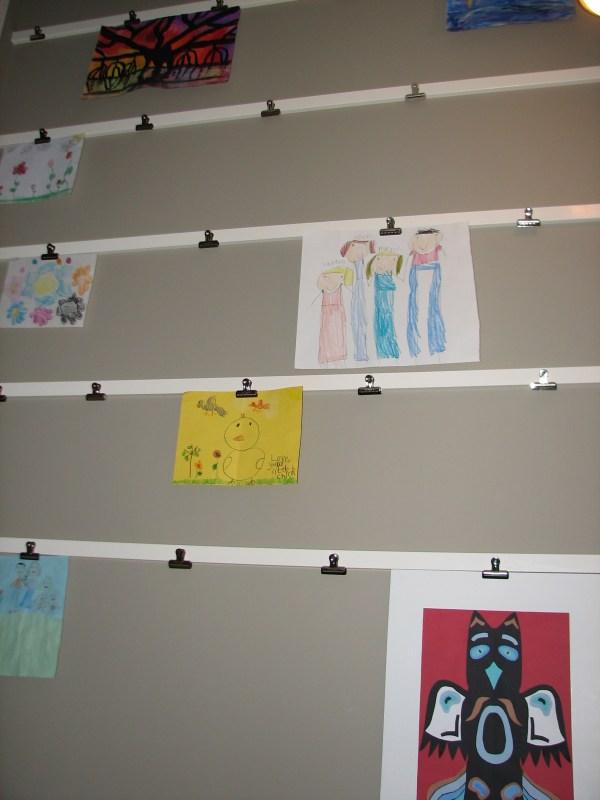 Wall Art Display Clips