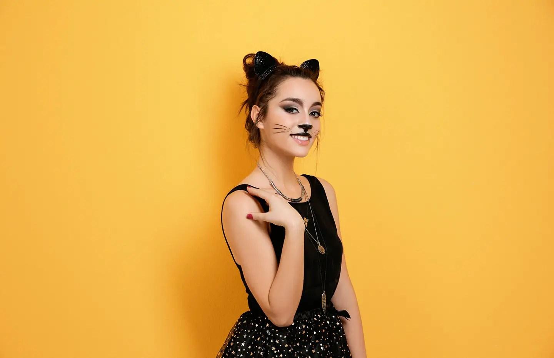 Cool halloween makeup