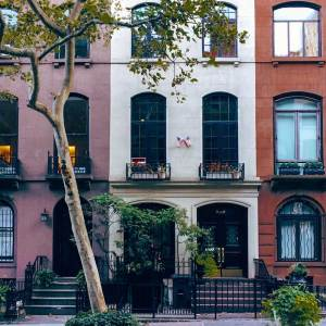 Tiny apartment block