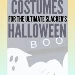 51 Last-Minute Costumes for the Ultimate Slacker's Halloween! Pinterest Pin