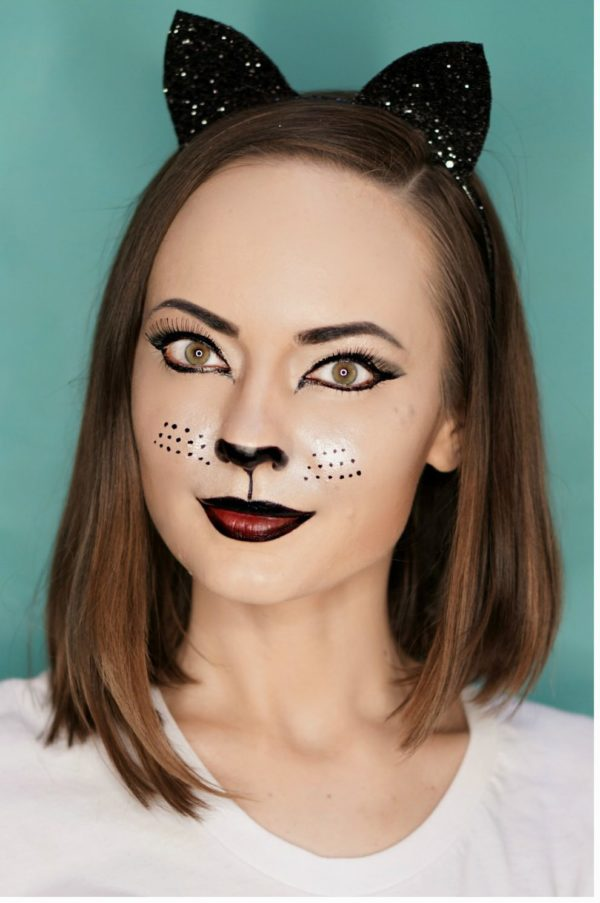 easy Halloween make up