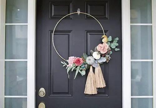 Fall wreath minimal