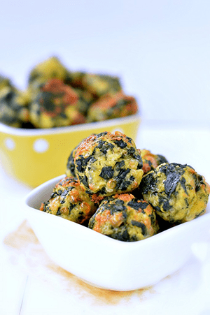 spinach cheesey balls holiday appetizer