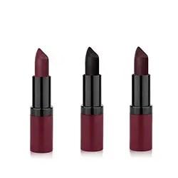 Dark lipstick trio