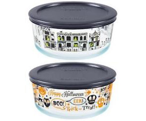 Pyrex Halloween dishes