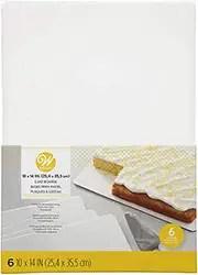 Rectangular Cake Board Set