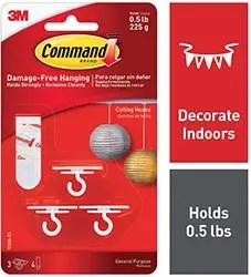 Command Ceiling Hooks