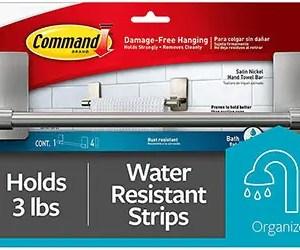 Command Hand Towel Bar