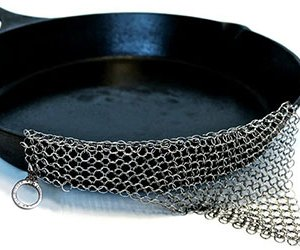 The Ringer - The Original Stainless Steel Cast Iron Cleaner