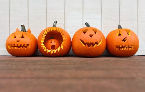 Halloween Pumpkin Recycling