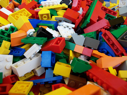 Playing with style: LEGO or Lego?