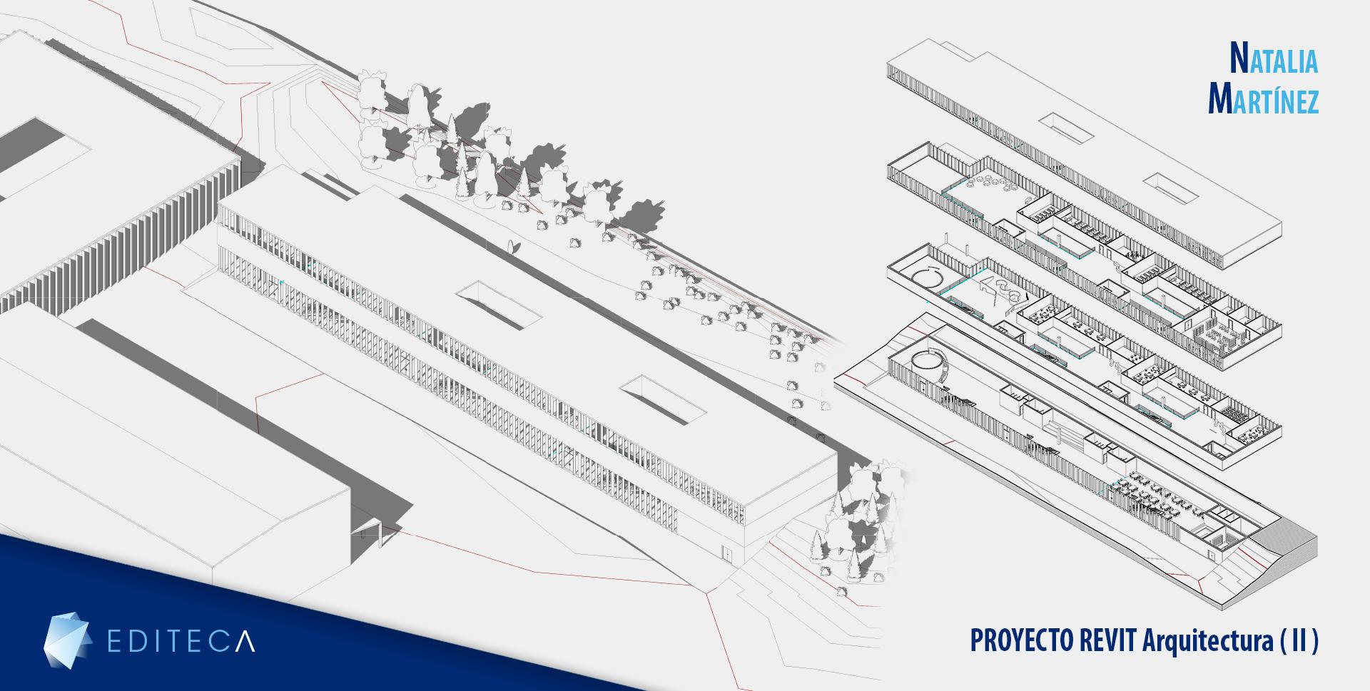 proyectos curso revit arquitectura intermedio