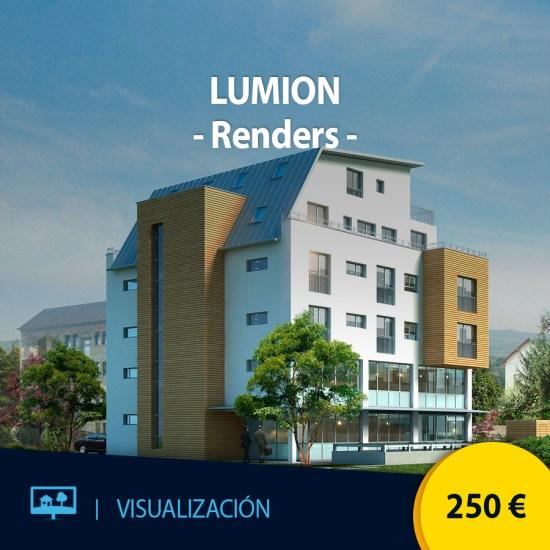 Curso online creación de renders con Lumion
