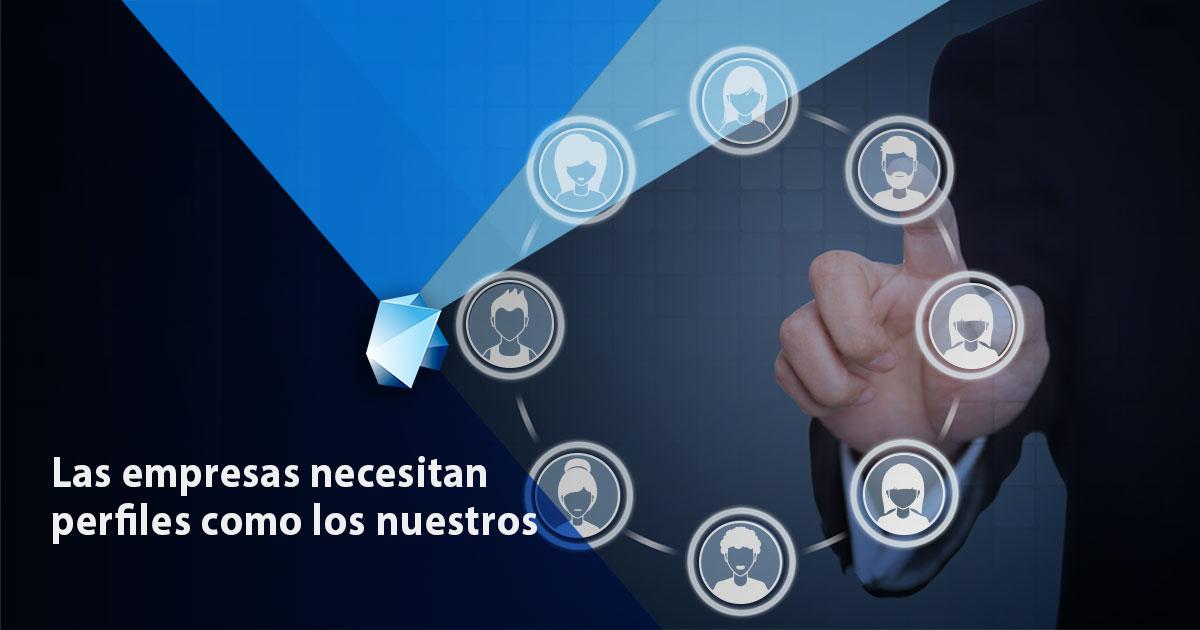 empresas españolas necesitan perfiles