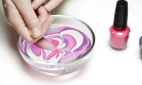 How To Do Water Marble Nails