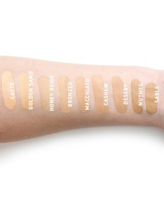 Jouer swatch also we swatched every shade of the foundation so you don   have to rh beautybay