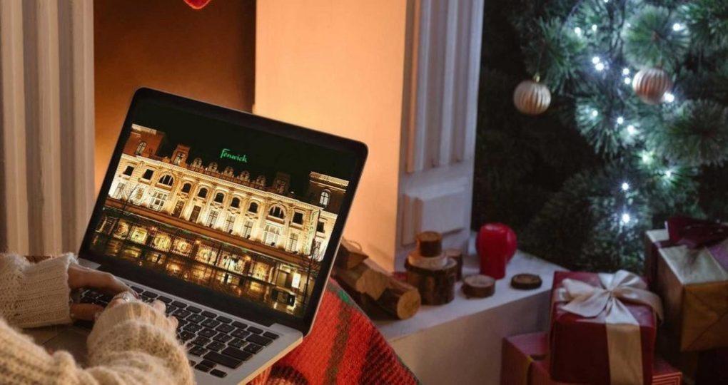 Fenwick Virtual Christmas Window Reveal 2020