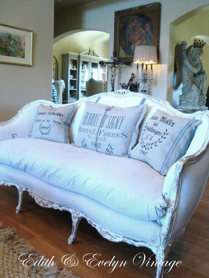 French Sofa Redo Edith Amp Evelyn