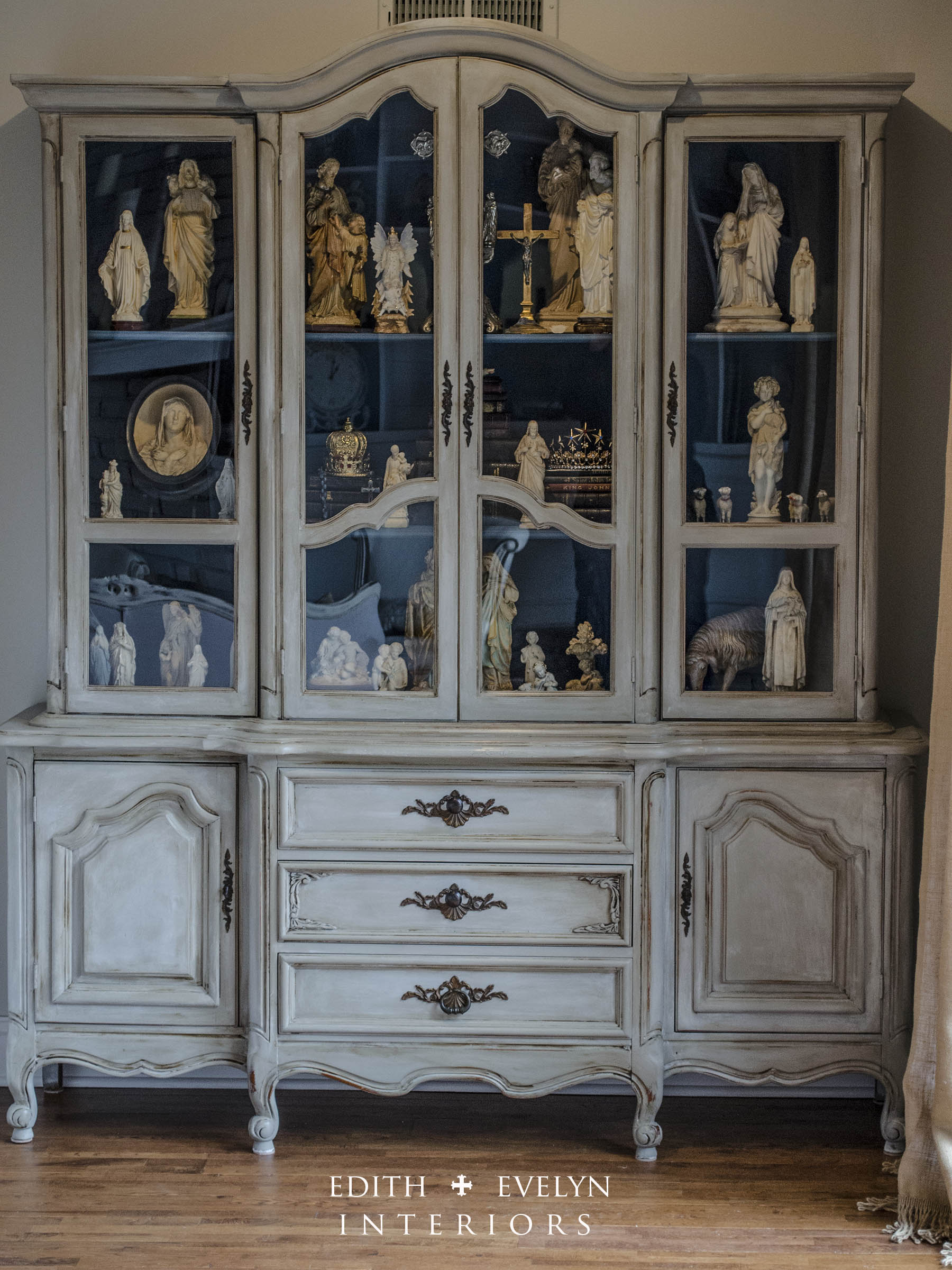 The China Cabinet Transformation | Edith & Evelyn Vintage