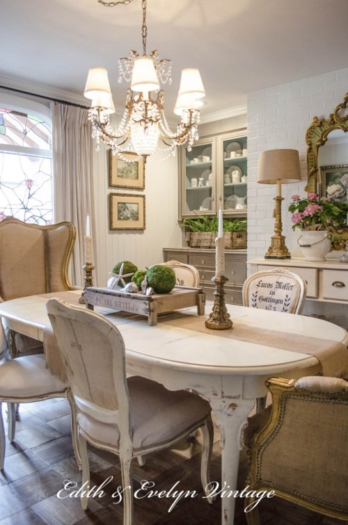 Transformation | Dining Room |Edith & Evelyn Vintage