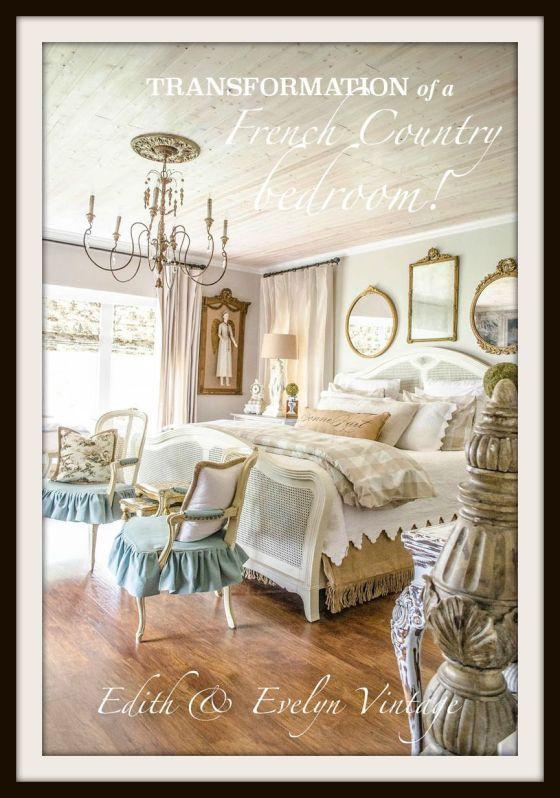 Transformation | Master Bedroom | Edith & Evelyn Vintage |www.edithandevelynvintage.com