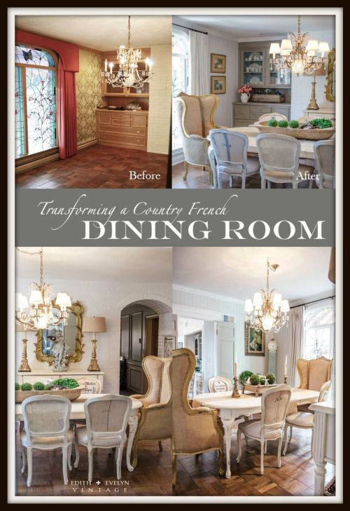 Transformation | The Dining Room | Edith & Evelyn Vintage | www.EdithandEvelynVintage.com