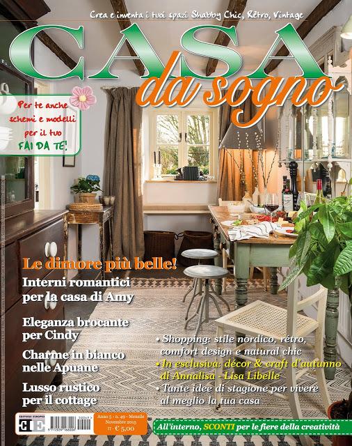 Home Feature in Casa da Sogno Magazine