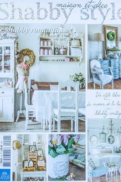 Our French Debut | Featured in Shabby Style French Magazine