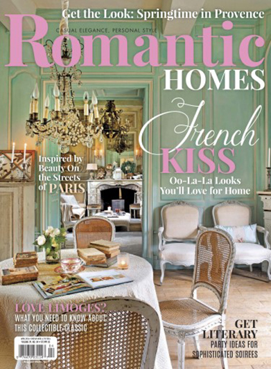 Romantic Homes | www.edithandevelynvintage.com