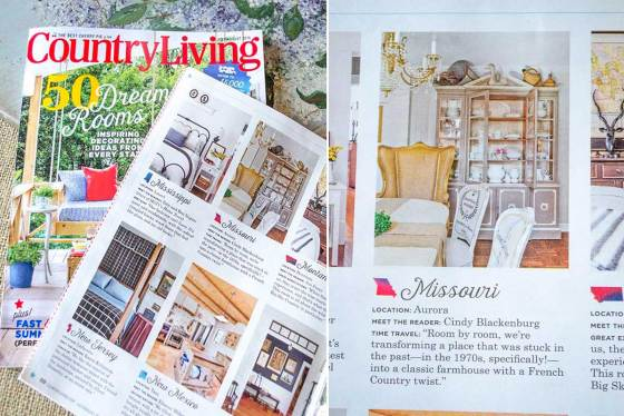 Country Living Feature | Edith & Evelyn | www.edithandevelynvintage.com