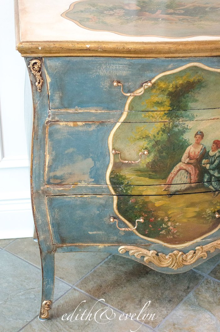 A French Chest   Edith & Evelyn  www.edithandevelynvintage.com