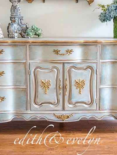 Transforming Furniture with Mouldings | Evelyn's Dresser