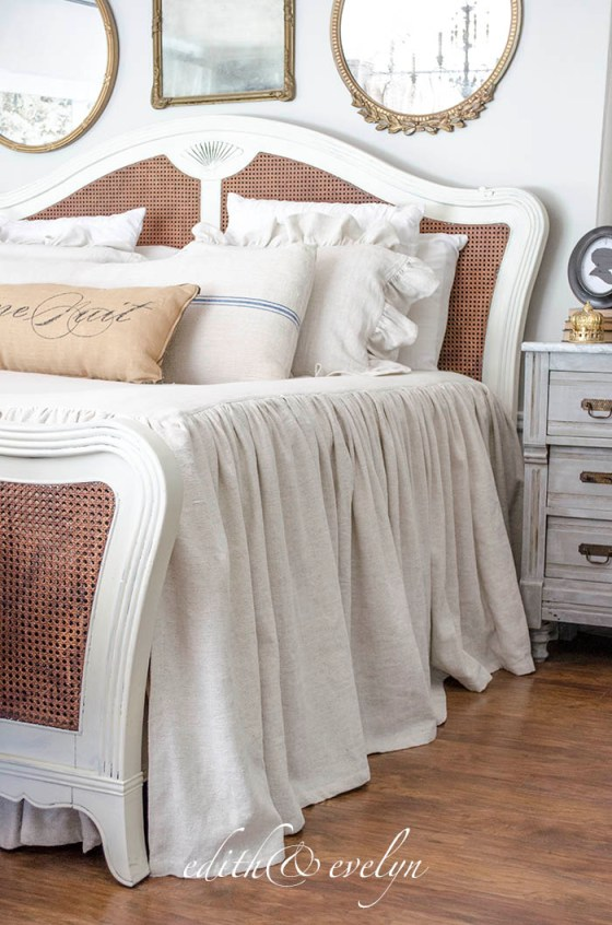 Bedroom Refresh | $500 Annie Selke Giveaway | Edith & Evelyn | www.edithandevelynvintage.com