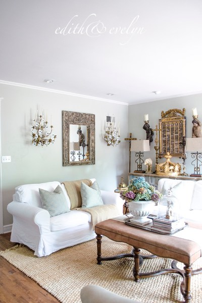 French Sconces and a French Chandelier