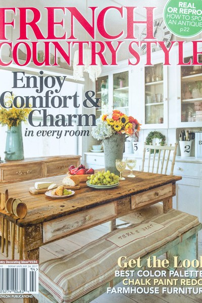 Home renovation archives edith evelyn for French country home magazine