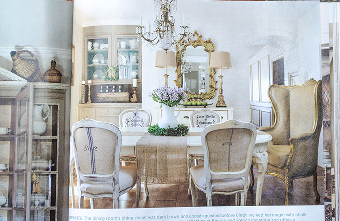 Feature in French Country Style Magazine | Edith & Evelyn | www.edithandevelynvintage.com
