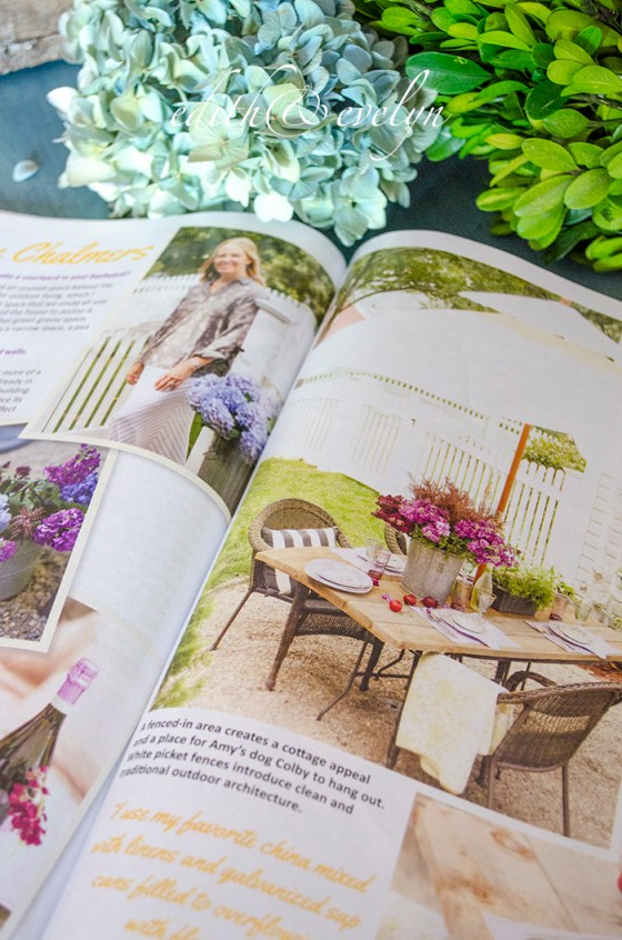 Finding Outdoor Inspiration | Edith & Evelyn | www.edithandevelynvintage.com