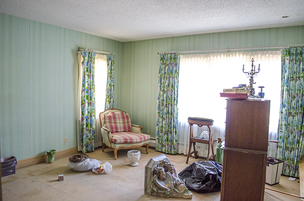 Guest Room Before | Edith & Evelyn | www.edithandevelynvintage.com