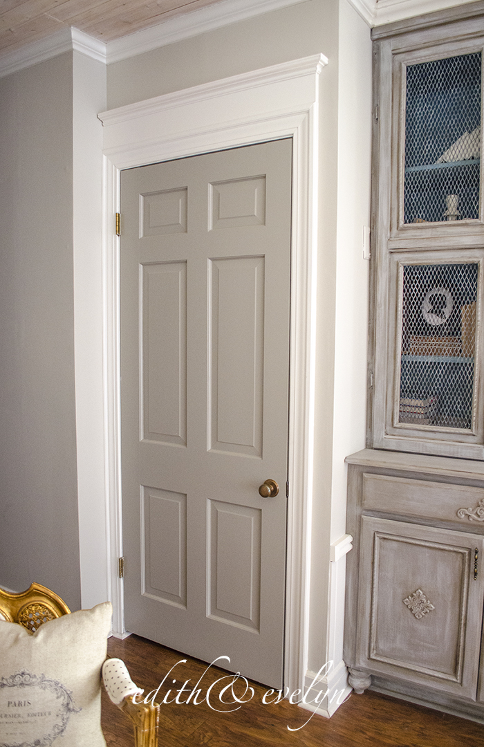 Exceptionnel How To Add Moulding To Doors   Edith U0026 Evelyn    Www.edithandevelynvintage.com