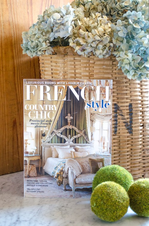 French Style Magazine | Edith & Evelyn | www.edithandevelynvintage.com