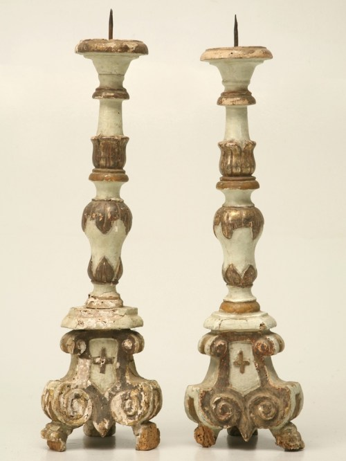 French Altar Sticks | Edith & Evelyn | www.edithandevelynvintage.com