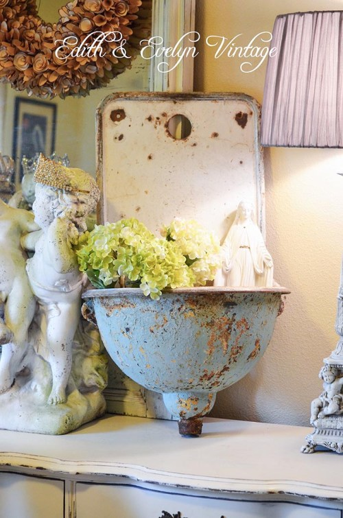 A French Lavabo And French Style Magazine Edith Evelyn