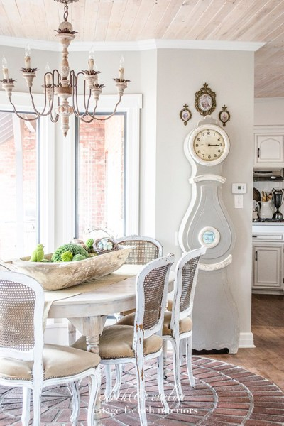 French Country Fridays No. 16 ~ Mora Clocks, Patio Decor, A French Bedroom, and More!