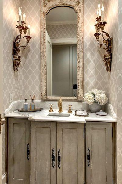 Powder Room Inspiration | Edith & Evelyn | www.edithandevelynvintage.com