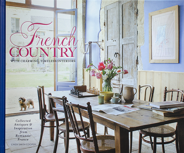 A New Book~French Country~and A Giveaway | Edith & Evelyn | www.edithandevelynvintage.com